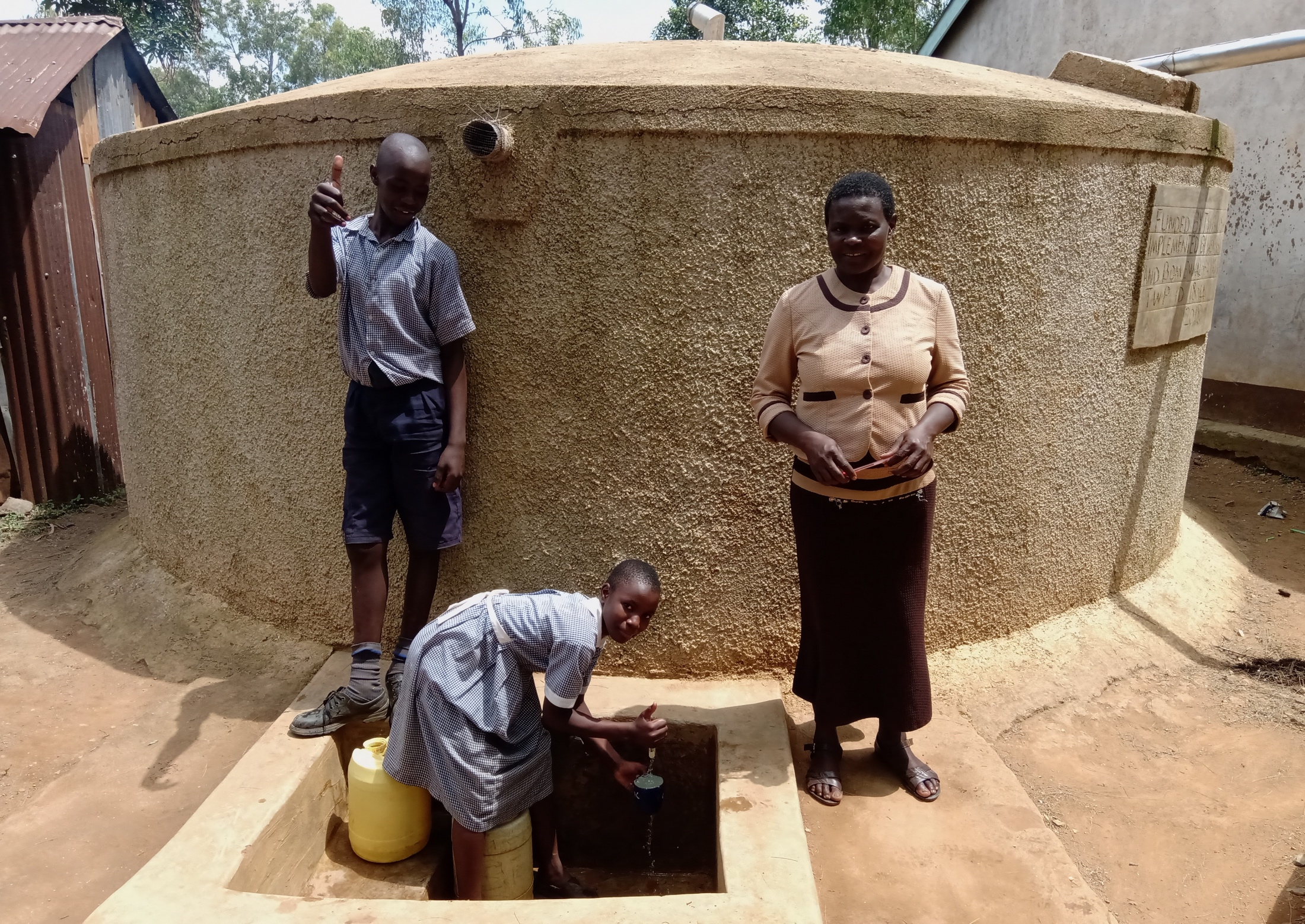 The Water Project : 5-kenya18044-smiles-for-running-water