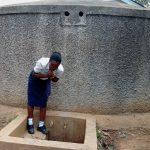The Water Project: Essaba Secondary School -  Alice Takes A Drink
