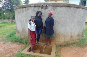 The Water Project:  Trinix Shikanga Laura And Mrs Mutanyi