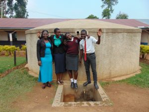 The Water Project:  Doreen Field Officer Rose Serete Smarone And Student