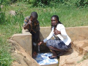 The Water Project:  Timothy With Field Officer Laura
