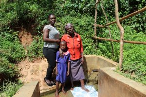 The Water Project:  Laura With Beatrice And Valentine