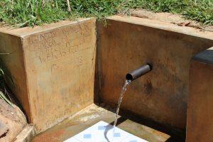 The Water Project:  Gideon Asonga Spring
