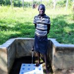 The Water Project: Ingavira Community, Laban Mwanzo Spring -  Rael Nyarotso