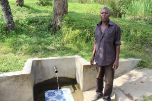 The Water Project:  Standing Proud With Running Water