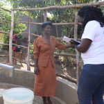 The Water Project: Elukho Community A -  Field Officer Terry Interviews Christine
