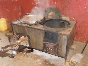 The Water Project:  Wood Powered Stove