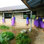 The Water Project: Kapkures Primary School -  Collecting Rain Water
