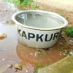 The Water Project: Kapkures Primary School -  Tub Of Rain Water
