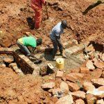 The Water Project: Mutao Community, Kenya Spring -  Brick By Brick