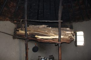 The Water Project:  Firewood Drying Above Stove