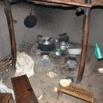 The Water Project: Kalenda B Community, Lumbasi Spring -  Stove Inside A Kitchen
