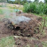 The Water Project: Bukhaywa Community, Shidero Spring -  Making Charcoal