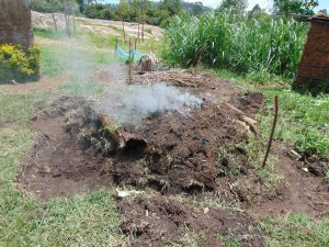 The Water Project:  Making Charcoal
