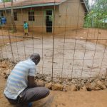 The Water Project: Makunga Primary School -  Rain Tank Walls