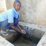 The Water Project: Muyere Secondary School -  Alvine Kakai At Rain Tank