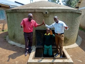The Water Project:  Mr Maloha Abraham And Jonathan