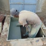 The Water Project: Ikumba Secondary School -  Access Area Consruction