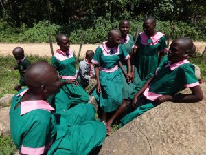 The Water Project:  Girls Relax During Break Time