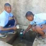 The Water Project: Muyere Secondary School -  Alvine On Left With Another Student