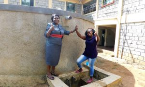 The Water Project:  Principal Osore With Jacklyne