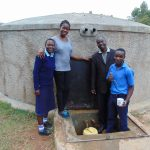 The Water Project: Kamuluguywa Secondary School -  Field Officer Christine Masinde Joins The Photo