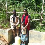 The Water Project: Elukani Community, Ongari Spring -  Smiles For Flowing Water