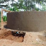 The Water Project: Irovo Orphanage Academy -  Rain Tank Construction