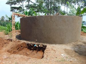 The Water Project:  Rain Tank Construction