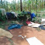 The Water Project: Munenga Community, Francis Were Spring -  Clothes Drying