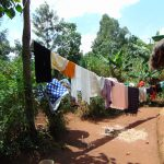 The Water Project: Munenga Community, Francis Were Spring -  Clothesline