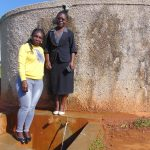 The Water Project: Shitoli Secondary School -  Laura And Josephine