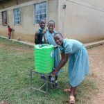 The Water Project: Shitaho Primary School -  Students At A Handwashing Station