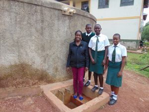 The Water Project:  Field Officer Christine With Students
