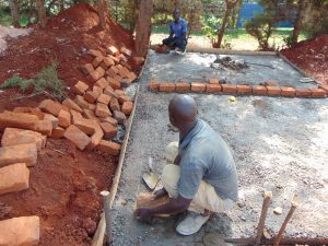 The Water Project:  Measuring Brickwork
