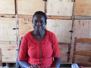 The Water Project:  Sanitation Teacher Lilian