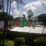 The Water Project: Bukhaywa Community, Ashikhanga Spring -  Clothesline