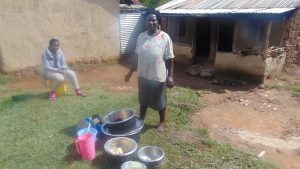 The Water Project:  Woman Prepares To Wash Dishes