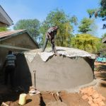 The Water Project: Makunga Primary School -  Dome Construction