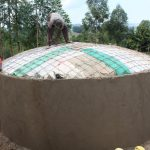 The Water Project: Kapchorwa Primary School -  Dome Work
