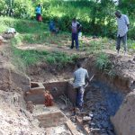 The Water Project: Shihingo Community, Inzuka Spring -  Brickwork