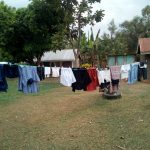 The Water Project: Shihingo Community, Inzuka Spring -  Clothes Drying