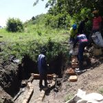 The Water Project: Eshikhugula Community, Shaban Opuka Spring -  Women Deliver Cement