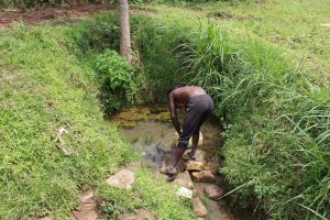 The Water Project:  Fetching Water At The Spring