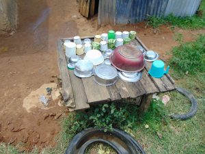 The Water Project:  Dishes Drying