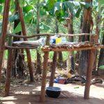 The Water Project: Kimaran Community, Kipsiro Spring -  Dishrack