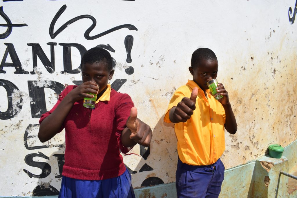 The Water Project : kenya18238-thumbs-up