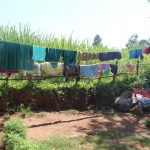 The Water Project: Kalenda A Community, Webo Simali Spring -  Clothes Drying