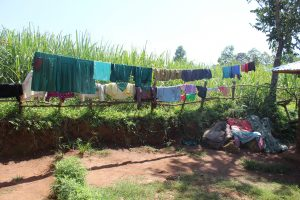 The Water Project:  Clothes Drying