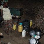 The Water Project: Kalenda A Community, Webo Simali Spring -  Mrs Robais Kitchen
